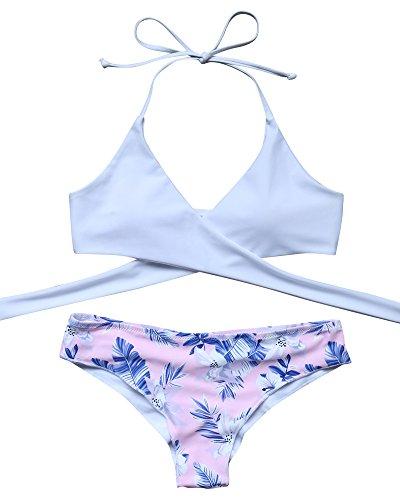 MOOSKINI Womens Push up Bathing Swimsuit