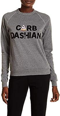bow /& drape Womens Juniors Carb Dashian Sequined Beaded Sweatshirt