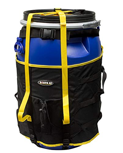 North49 Canoe Barrel Harness Pack 60L, Backpack