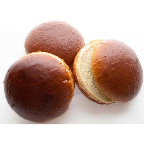Klosterman Prebake Shine Round Potato Bun, 4.25 inch -- 96 per case.