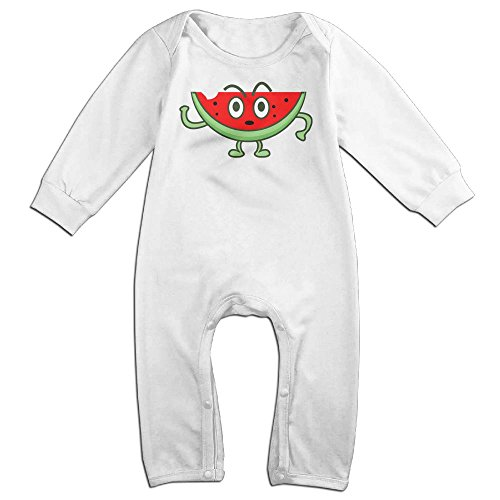 Baby Sour Patch Kid Costume (Baby Infant Romper Watermelon Long Sleeve Bodysuit Outfits Clothes White 6 M)