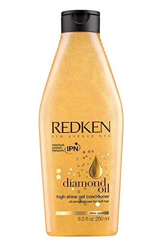 Redken Diamond Oil High Shine Gel Conditioner, 8.5 Ounce