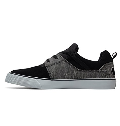 Heathrow Shoes grey Dc Vulc Black Para Zapatillas Hombre Se q4PfwC
