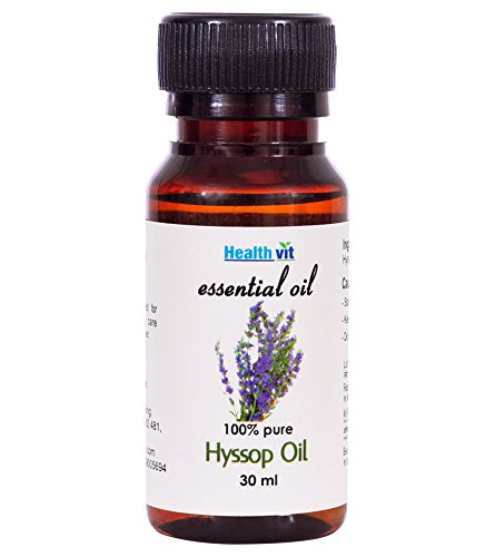 Healthvit Hyssop Essential Oil – 30 ml