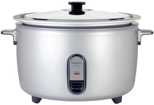 Panasonic SR-GA721 Commercial Automatic Rice Cooker, 40 Cup, Silver, 220V (Non-USA Compliant)