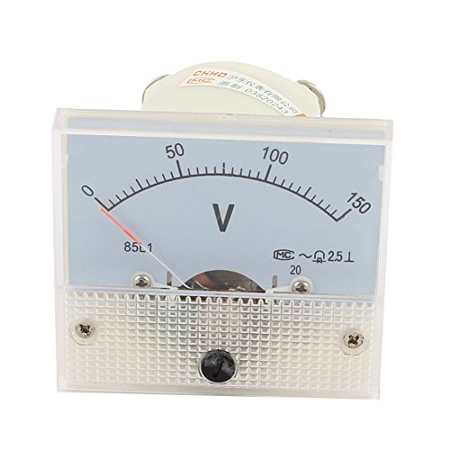 Ac Analog (uxcell Screw Mounted Electric Voltage Measuring Analog AC 150V Voltmeter)