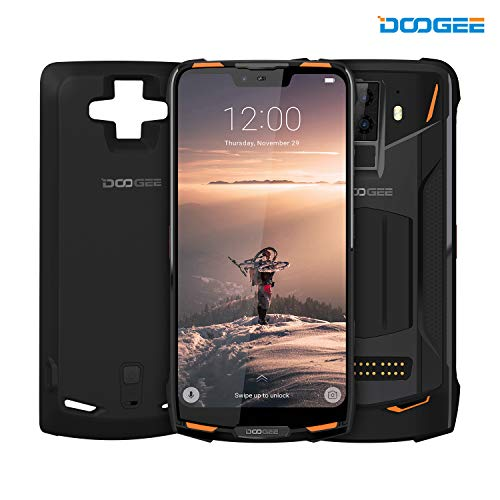 DOOGEE S90 4G Modular Rugged Cell Phone Android 8.1-10050mAh Battery (Included Power Module) 6.18