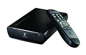 Iomega ScreenPlay Plus HD Media Player 500GB - Reproductor/sintonizador (FAT32, NTFS, BMP, XviD, AAC, AC3, MP3, WAV, WMA, 130 mm, 191 mm) Negro