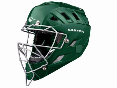 Easton Stealth Catchers Helmet - Easton Surge Catchers Helmet, Green, Large