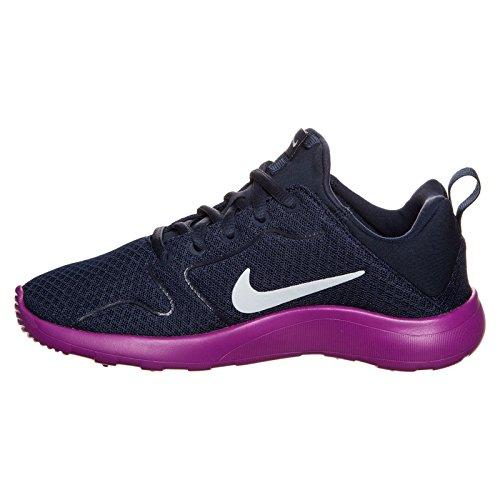 Nike 844668-401, Zapatillas de Trail Running para Mujer Azul (Midnight Navy / Blue Tint-Hyper Violet)