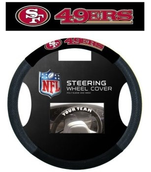 Mesh Steering San Francisco 49ers Wheel Cover
