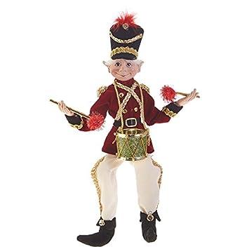 RAZ Imports 16 Posable Elf Plaid Tidings