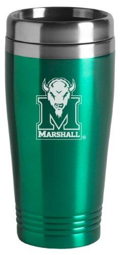 - Marshall University - 16-ounce Travel Mug Tumbler - Green