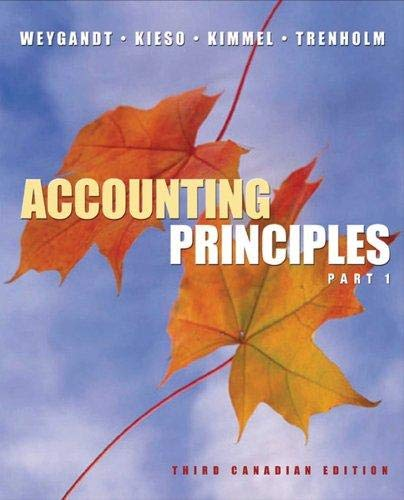 Accounting Principles, Parts 1 and 2, Working Papers (Pt. 1)