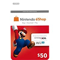 Deals on $50 Nintendo eShop Gift Cards