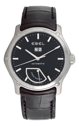 Ebel-Mens-9304F515335145-Classic-Black-Power-Reserve-Dial-Watch