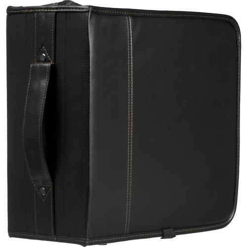 KSW-320 320 Capacity CD Wallet - holds 320 + 16 CDs or DVDs without Jewel Cases (Black Koskin) and Free 6 Feet Netcna HDMI Cable - By NETCNA
