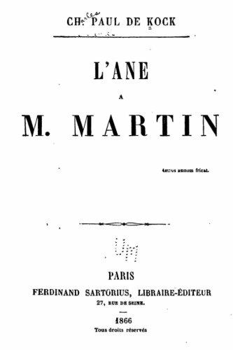 Download L'Ane de M. Martin (French Edition) pdf epub