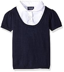 The Children's Place Girls' Short Sleeve...