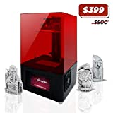 Phrozen Shuffle Lite, Entry Level UV LCD 3D Printer with Touch Screen, Resin 3D Printer with WiFi Connectivity, USB for Beginners. Build Volume 120x68x170mm.