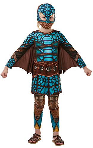How To Train Your Dragon 3 Deluxe Astrid Battlesuit Girls Costume Size -
