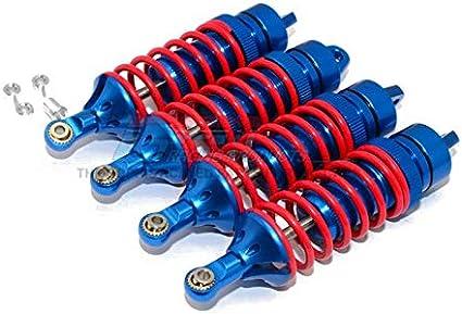Aluminum Shocks Dampers 4pcs For Traxxas 1//10 REVO E-REVO E-REVO 2.0 SUMMIT 5460