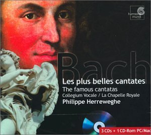 Bach: Les Plus Belles Cantates (The Famous Beautiful Cantatas) by Harmonia Mundi Fr.