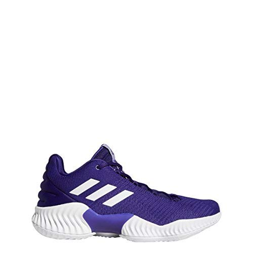 fc94f2122e9 Image of the adidas Pro Bounce 2018 Low Shoe Men s Basketball 12 Regal  Purple-White