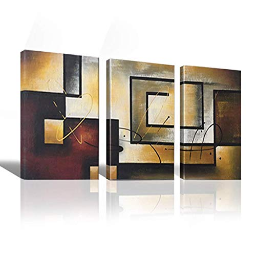 Mon Art 100% Hand Painted Canvas Wall Art Oil Painting...