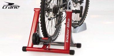 Alu Fahrrad Magnet-Rollentrainer Indoor, 5-stufig, mit VR Halter,