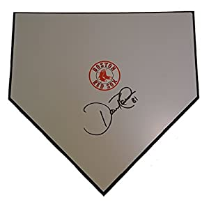 Boston Red Sox Dave Roberts Autographed Hand Signed Baseball Home Plate Base with Proof Photo of Signing and COA