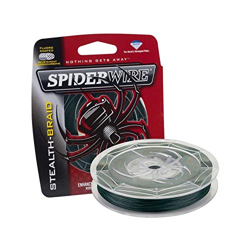 Spiderwire SCS20G-125 Braided Stealth Superline, Moss Green, 20 Pound, 125 -