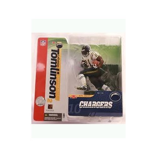 - McFarlane NFL Series 10 LaDainian Tomlinson 2 San Diego Chargers Chase Variant White Jersey 6 inch Action Figure