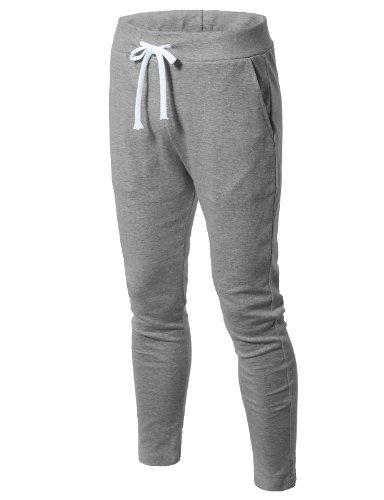 H2H Mens Sportswear Men's Royce Peak Pant GRAY US XL/Asia 2XL (JJSK07)
