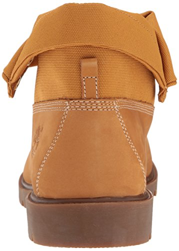 Nubuck Cordura Boot Timberland Wheat Top Roll Ankle Basic Single Men's nxxwqZv8OC