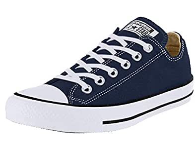 Converse Unisex-Adult Chuck Taylor All Star Low Top (International Version) Blue Size: 3