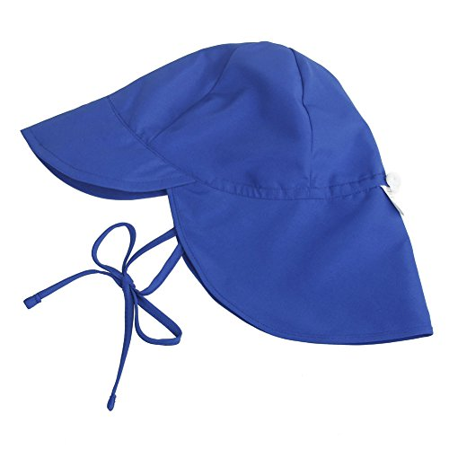 Baby Sun Protection Hat Adjustable UPF50+ Toddler Swim Hat Fory Boys and Girls Flap Hat UV Kids Wide Brim Neck Cap by ZS
