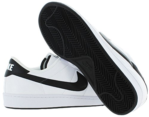 NIKE Mens Tennis Classic Leather Fashion Sneaker White/Black hCbGs