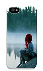 iPhone 5 5S Case Alone in the Mist 3D Custom iPhone 5 5S Case Cover