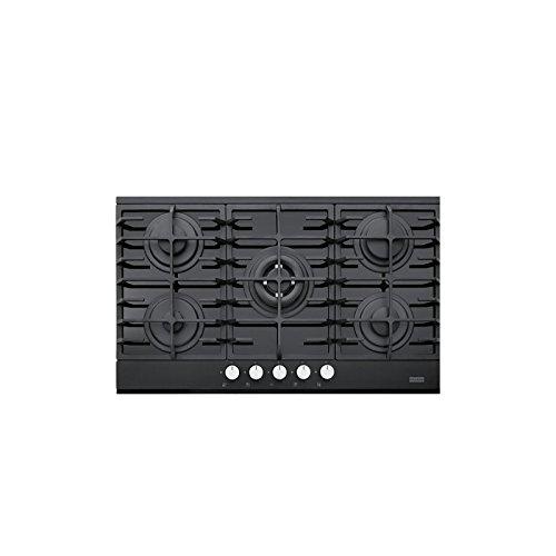 Franke Glass 905 Incasso Piano cottura a gas Nero: Amazon.it