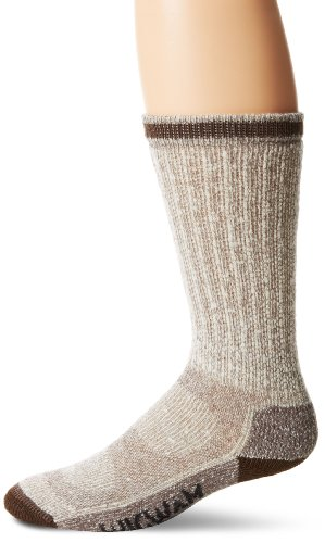Wigwam Men's Comfort Sportsman Boot Socks, Brown, Large Sportsman Socks