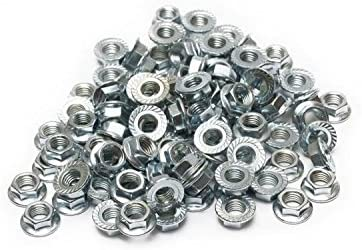 80 SRR Hardware Serrated Split Rim Nuts M7 BBS OZ RH Schmidt Wheels Zinc Plated