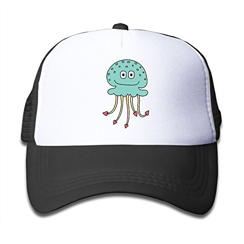 Elephant AN Jellyfish Color Mesh Baseball Cap Kid Boys Girls Adjustable Golf Trucker - Costume Cudi Kid