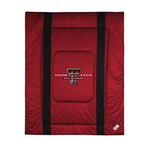 Sports Coverage NCAA Texas Tech Red Raiders Sideline Comforter Queen - Texas Tech Comforter
