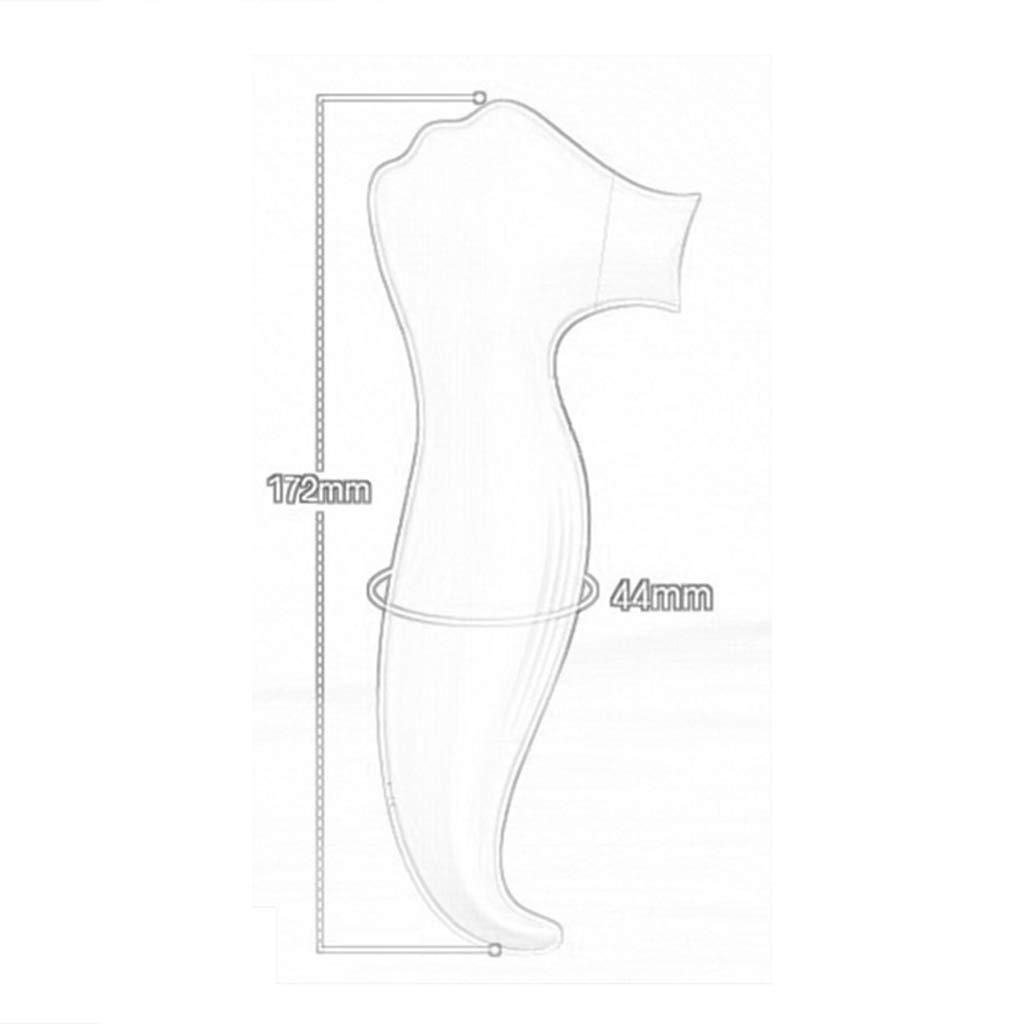 Masajeador eléctrico eléctrico Masajeador portátil para Mujer, Cofre Ultra silencioso e Impermeable Vibratòr (Color : Azul) 88eed8