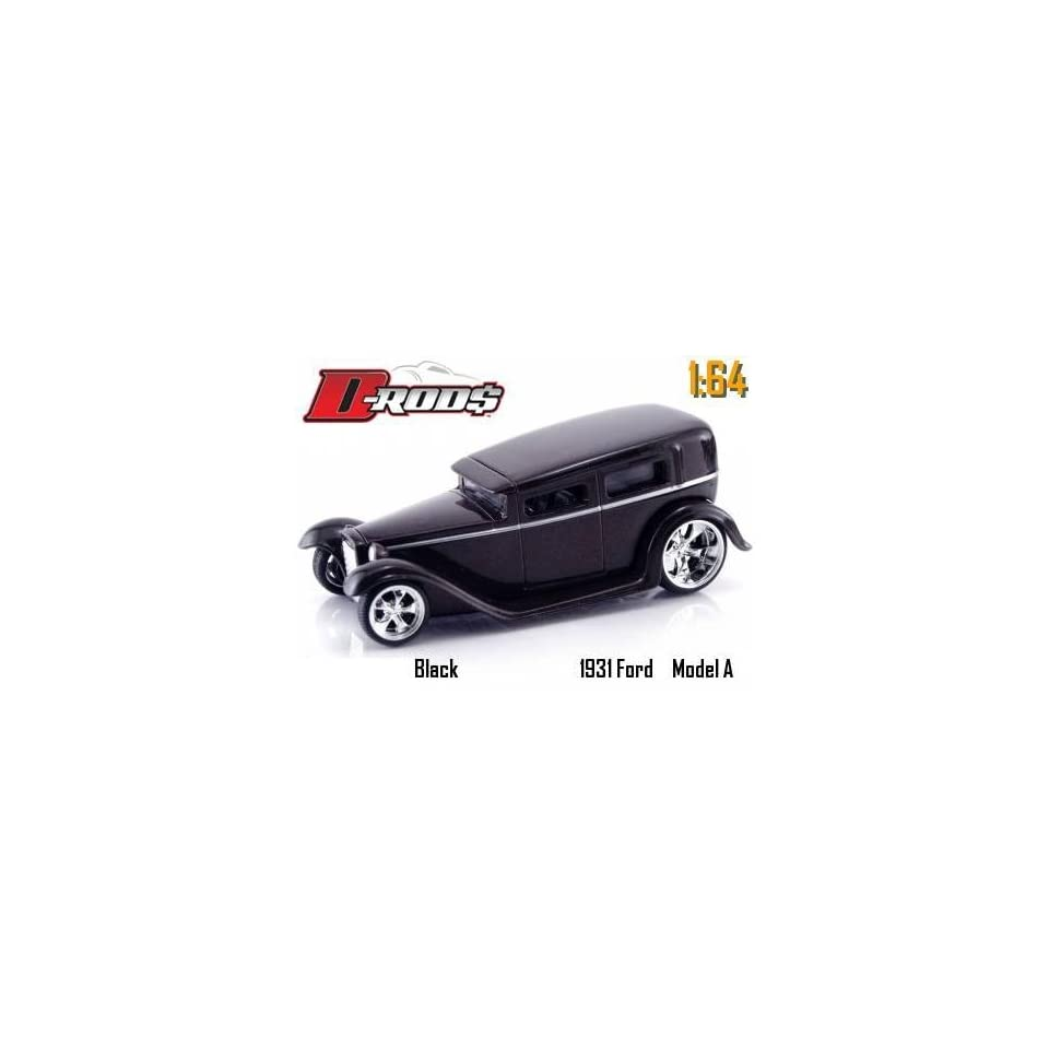 Jada Dub City D Rods Black 1931 Model A 164 Scale Die Cast Car