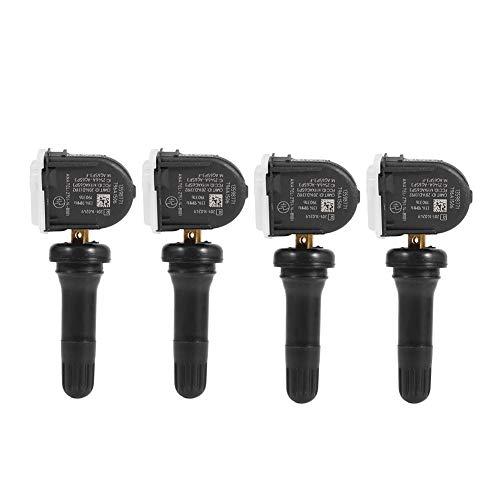 Qiilu 4pcs Tire Pressure Monitoring Sensors TPMS 13598771: