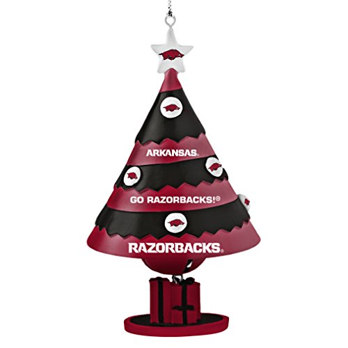 NCAA Arkansas Razorbacks Tree Bell Ornament