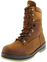 Wolverine Mens Steel Toe Boot Waterproof Boot
