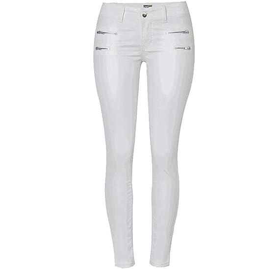 394d6c3ac3f1 Femme Elégante Mode Trousers Automne Hiver avec Fermeture Éclair avec  Poches Style de fête Longues Uni